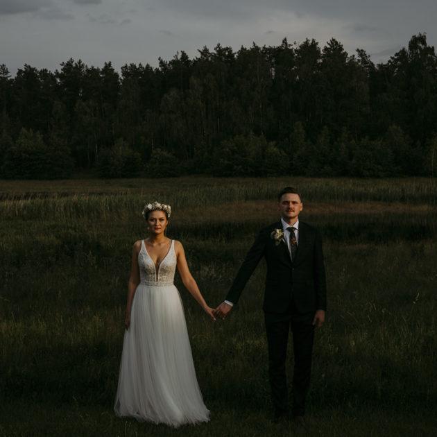 ślub w lesie fotograf Czeżyk