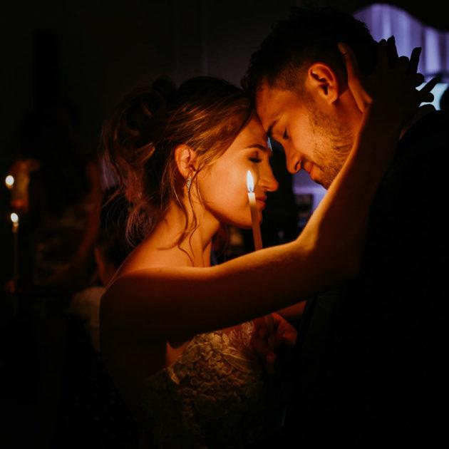 taniec przy świecach